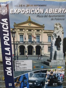 Actos de Celebración del Día de la Policía celebrado en Palencia capital.