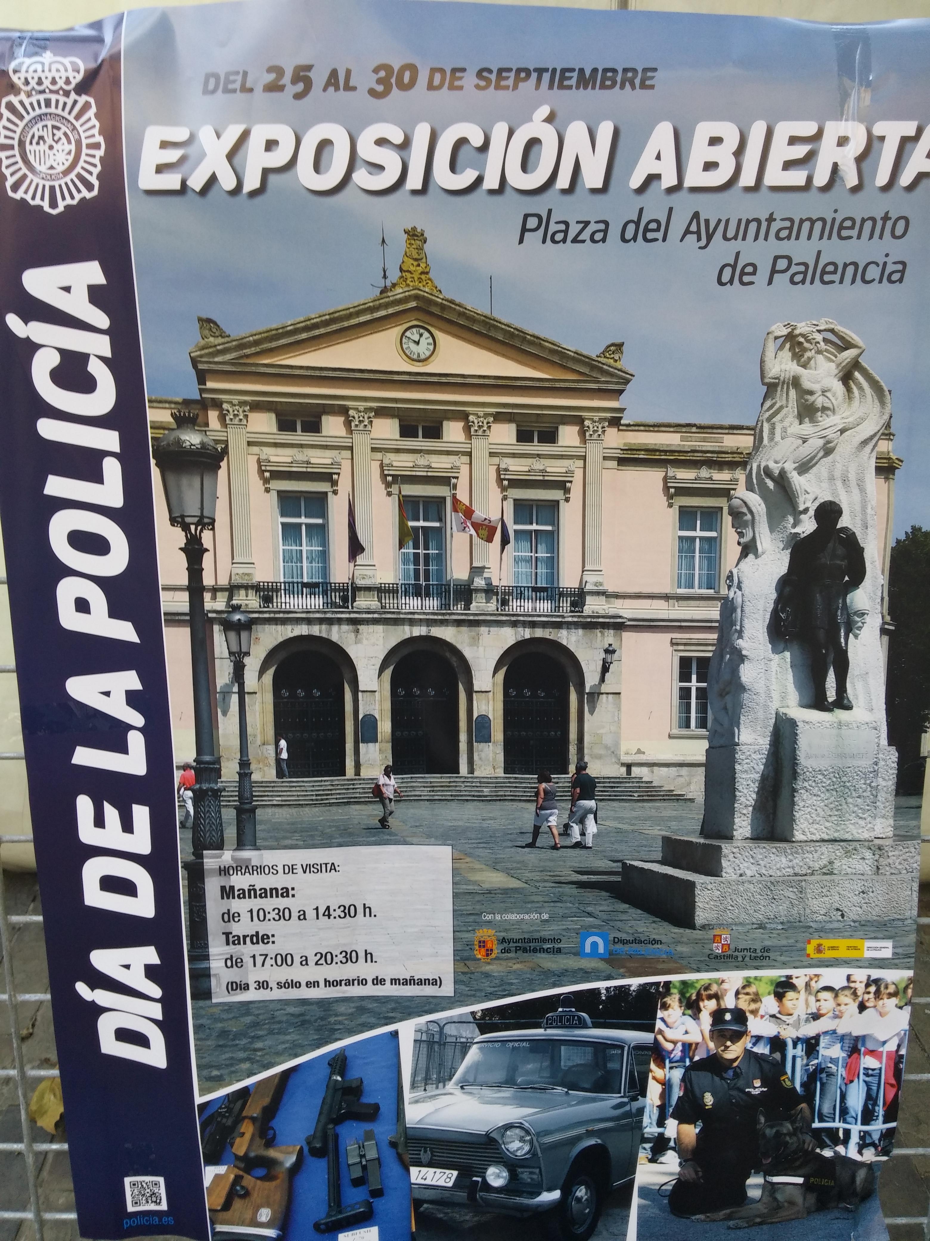 Día de la Policía Palencia 1 de Octubre