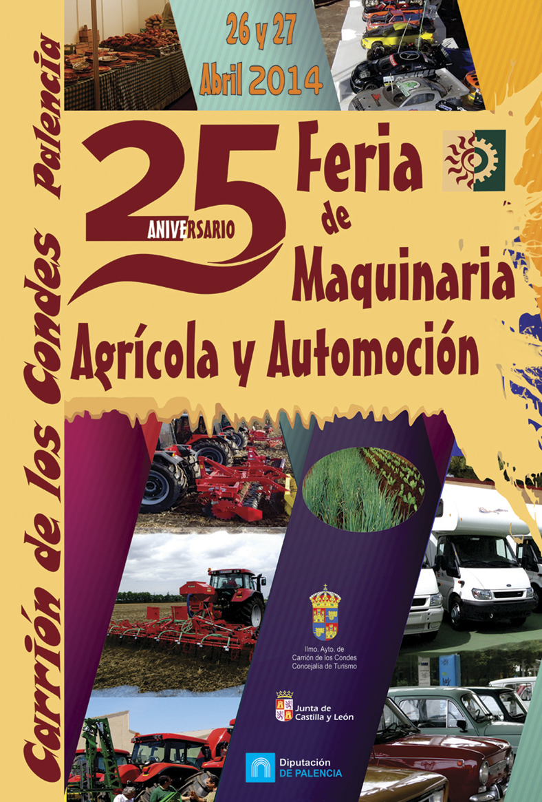 XXV Feria de Maquinaria Agrícola de Carrión